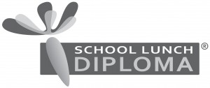 School Lunch Diploma 18 cm, B&W, jpg