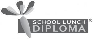 School Lunch Diploma 7 cm, B&W, jpg