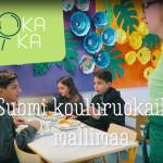 Suomi kouluruokailun mallimaa-videokuva